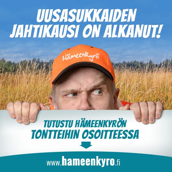 Bannerimainos Hämeenkyrön kunnalle